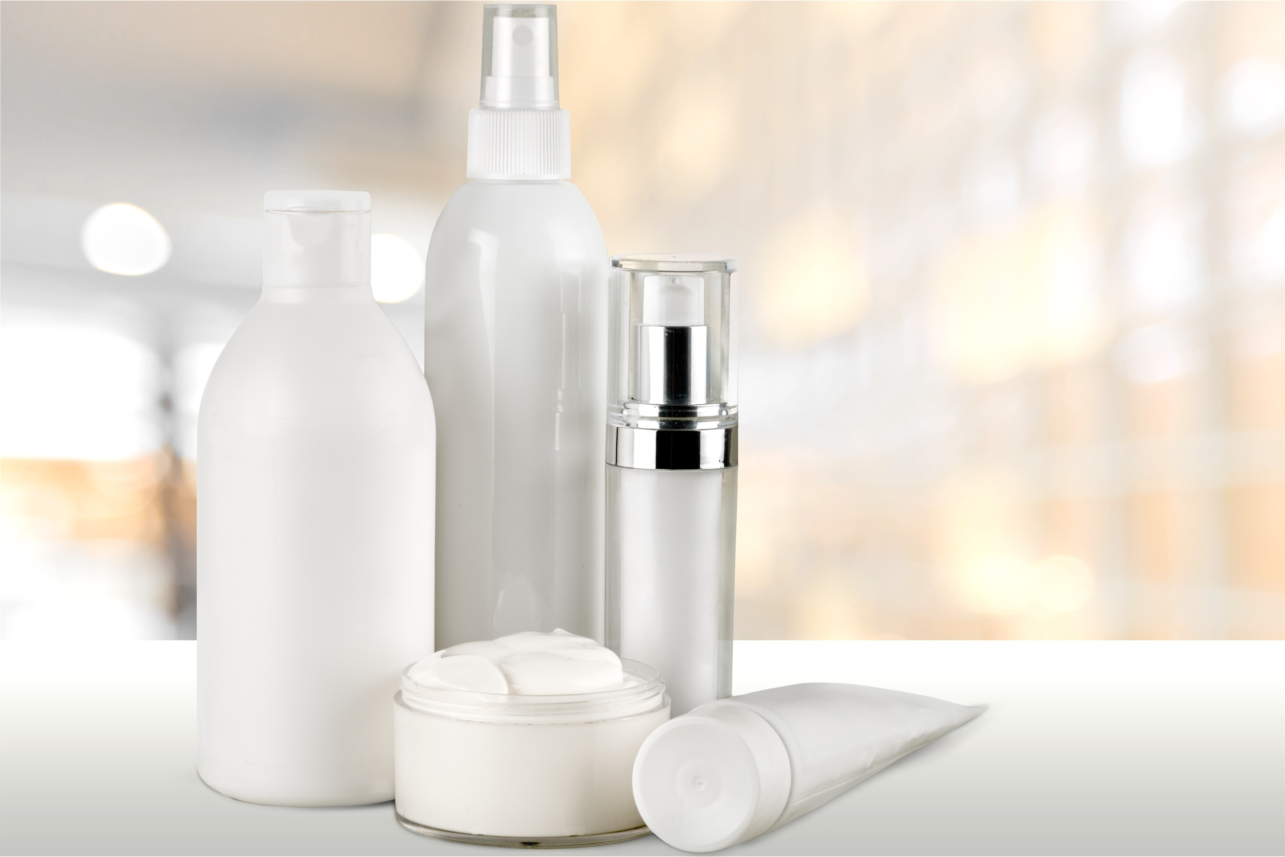 Jars or spray bottles? You choose in your MFC cosmetic formulation
