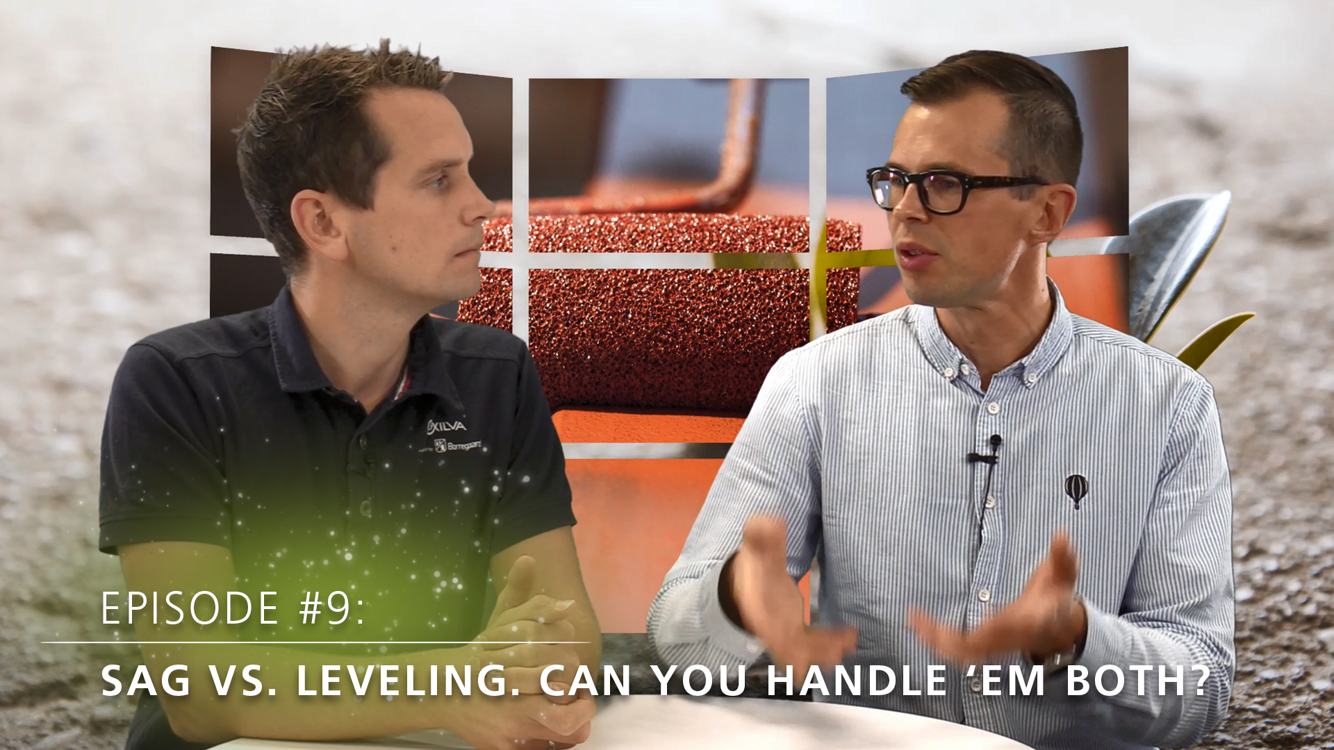 [VIDEO] Topic tuesday: Sag vs. leveling. Can you handle 'em both?